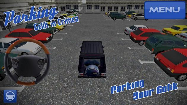 Parking Gelik in Crimea apk screenshot