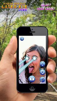 Photo Effect Laser Eye Joke poster