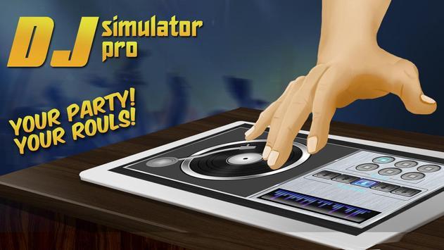 Real DJ PRO Simulator poster