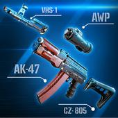 Simulator Weapon Gun Morphing icon