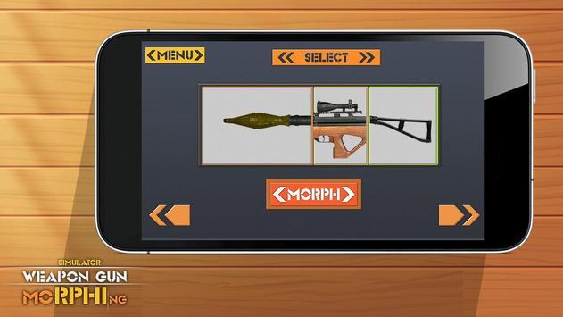 Simulator Weapon Gun Morphing poster