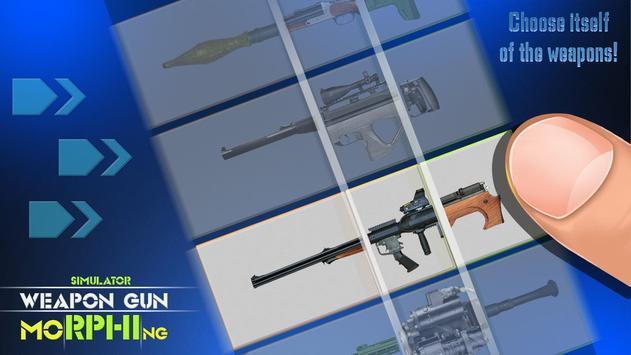 Simulator Weapon Gun Morphing apk screenshot