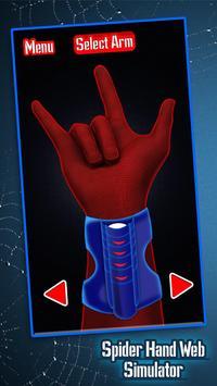 Spider Hand Web Simulator apk screenshot