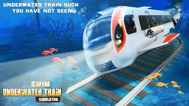 Swim Underwater Train Simulato apk screenshot