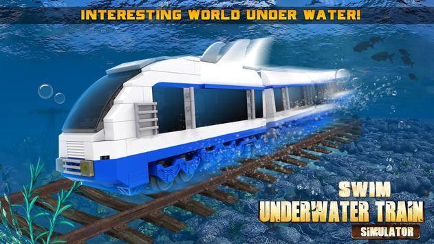 Swim Underwater Train Simulato poster
