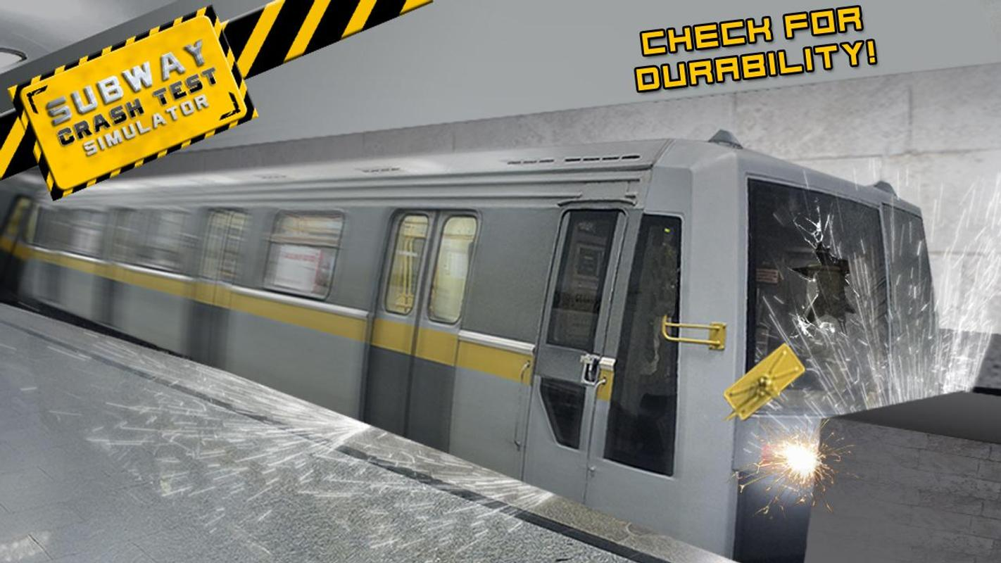 Subway Crash Test Simulator APK Download - Free Simulation GAME for ...