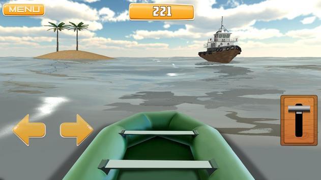 Survive Raft 3D Simulator apk screenshot