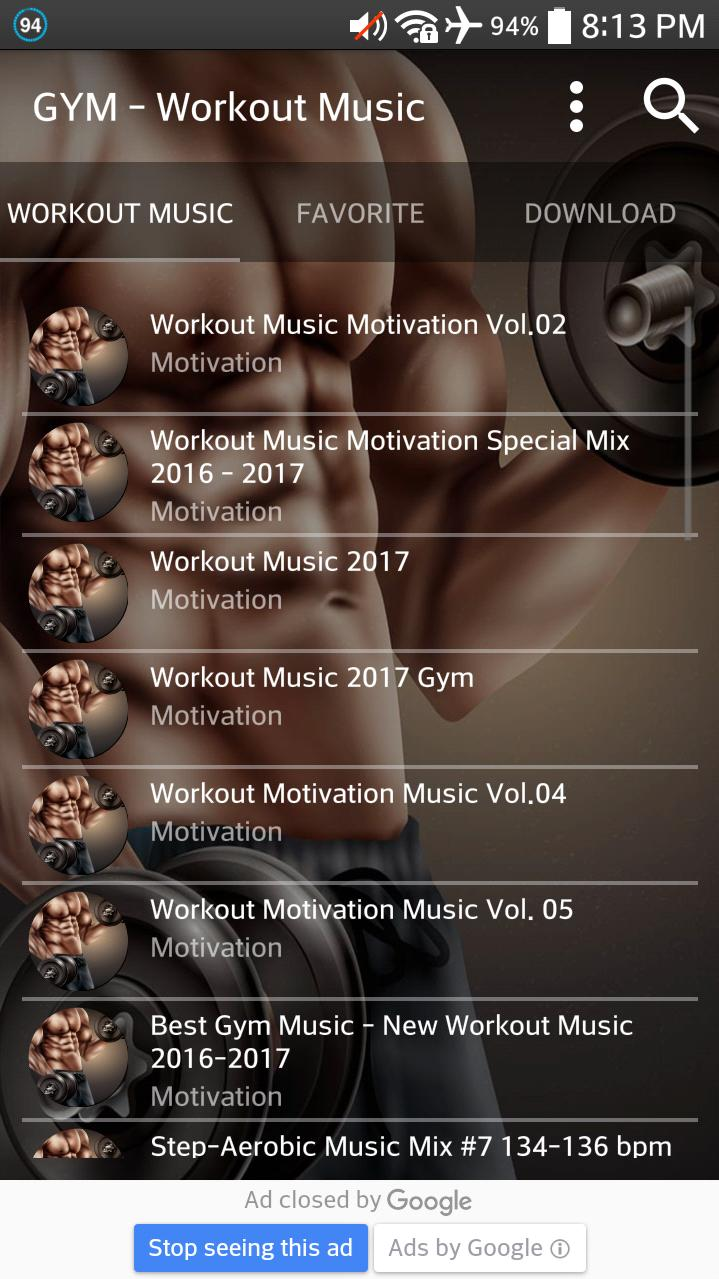 Workout Music 2017 for Android - APK Download
