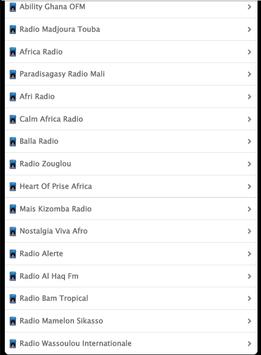 Musica Africana apk screenshot