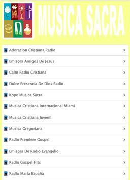 Musica Sacra apk screenshot