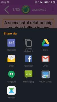 Love SMS to Impress Girl apk screenshot
