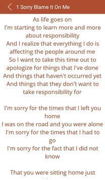 Hit Akon's Songs lyrics apk screenshot