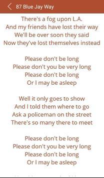 Hit Beatles's Hit Songs Lyrics apk screenshot