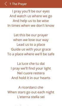 Hit Celine Dion's Songs Lyrics screenshot 2
