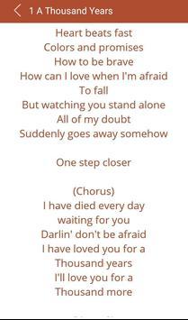 Hit Christina Perri's Songs apk screenshot