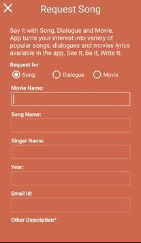 GF BF All Movie Songs Lyrics apk screenshot