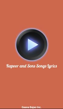 Kapoor and Sons Songs Lyrics poster
