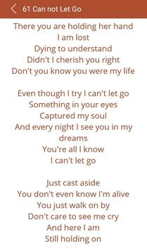 Hit Mariah Carey's Songs lyric apk screenshot