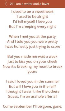 Hit Mike Posner's Songs Lyrics screenshot 14