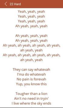 Hit Rihanna's Songs Lyrics apk screenshot