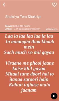 S P Balasubrahmanyam's Songs Lyrics apk screenshot