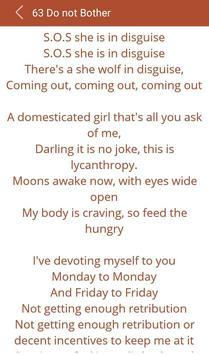 Hit Shakira's Songs Lyrics screenshot 19