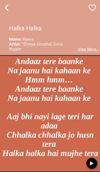 Hit Sonu Nigam's Songs Lyrics screenshot 2