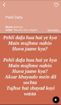Hit Sonu Nigam's Songs Lyrics screenshot 3