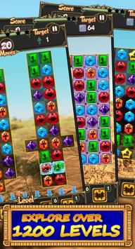 Egypt jewels: match-3 game screenshot 4