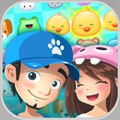 Rescue Pets pop match 3 puzzle icon