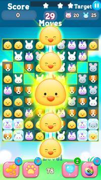Rescue Pets pop match 3 puzzle apk screenshot