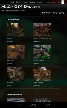 ..::LvL - Q3A Database apk screenshot