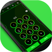 High Tech Phone Dialer & Contacts icon