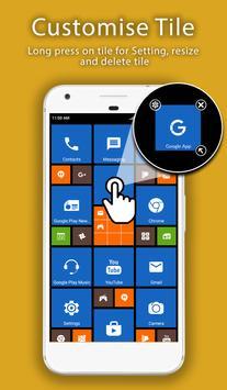 8.1 Metro Look Launcher Pro تصوير الشاشة 7
