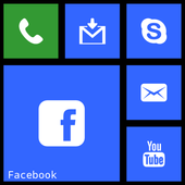WP8 Metro Launcher icon