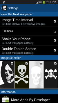 Skull Live Wallpaper screenshot 7