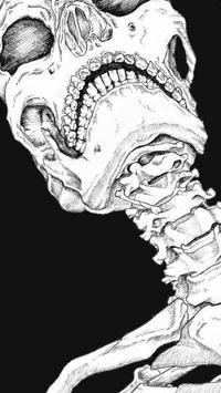 Skull Live Wallpaper screenshot 4