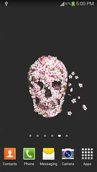 Skull Live Wallpaper screenshot 5