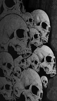 Skull Live Wallpaper screenshot 6