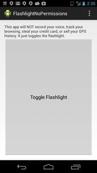 Flashlight No Permissions poster