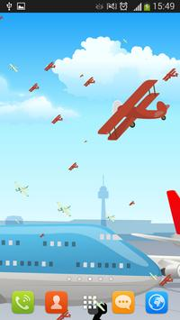 Airplanes Live Wallpaper poster