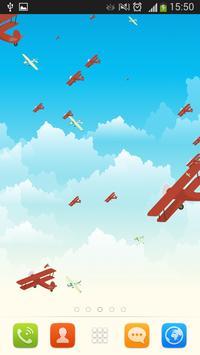 Airplanes Live Wallpaper apk screenshot