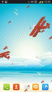 Airplanes Live Wallpaper screenshot 3
