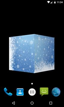 3D Christmas Live Wallpaper apk screenshot