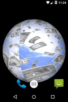 3D Money Cube Live Wall Papers apk screenshot