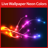 Neon Colors Live Wallpaper icon