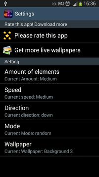 Neon Colors Live Wallpaper apk screenshot
