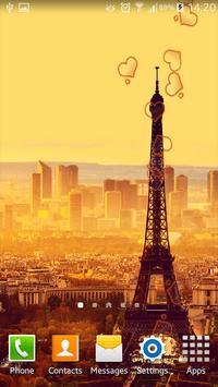 Paris HDLive Wallpaper screenshot 1