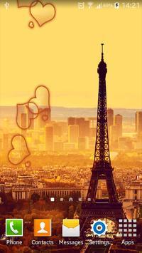 Paris HDLive Wallpaper screenshot 2