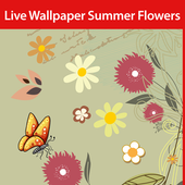 Summer Flowers Live Wallpaper icon